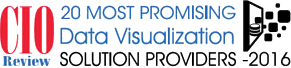 CIO Review 20 Most Promising Data Visualization Solution Provider 2016