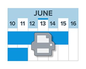 Visible date range printing in Qlik Gantt charts
