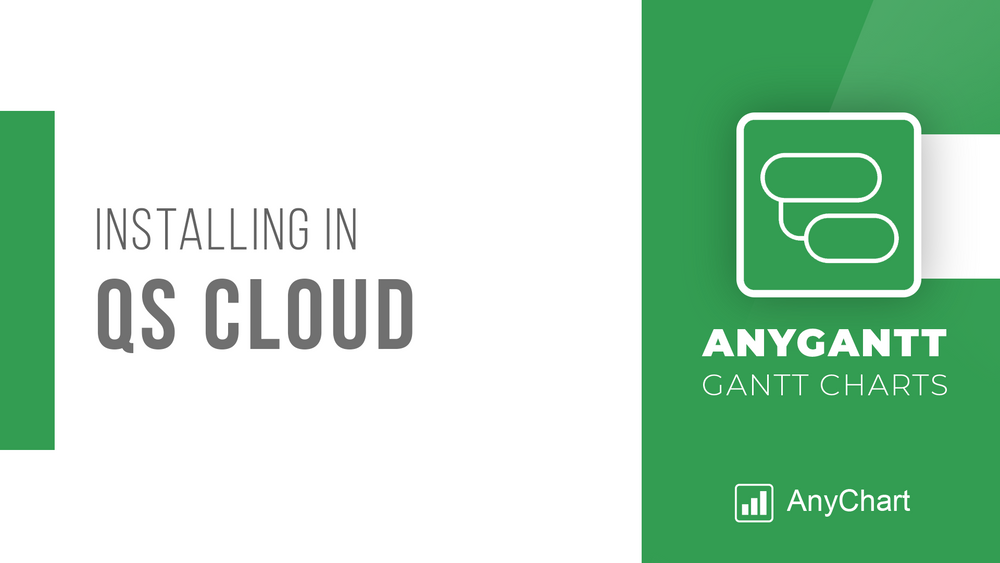 AnyGantt Extension for Qlik by AnyChart is Now Supported in Qlik Sense Cloud Edition