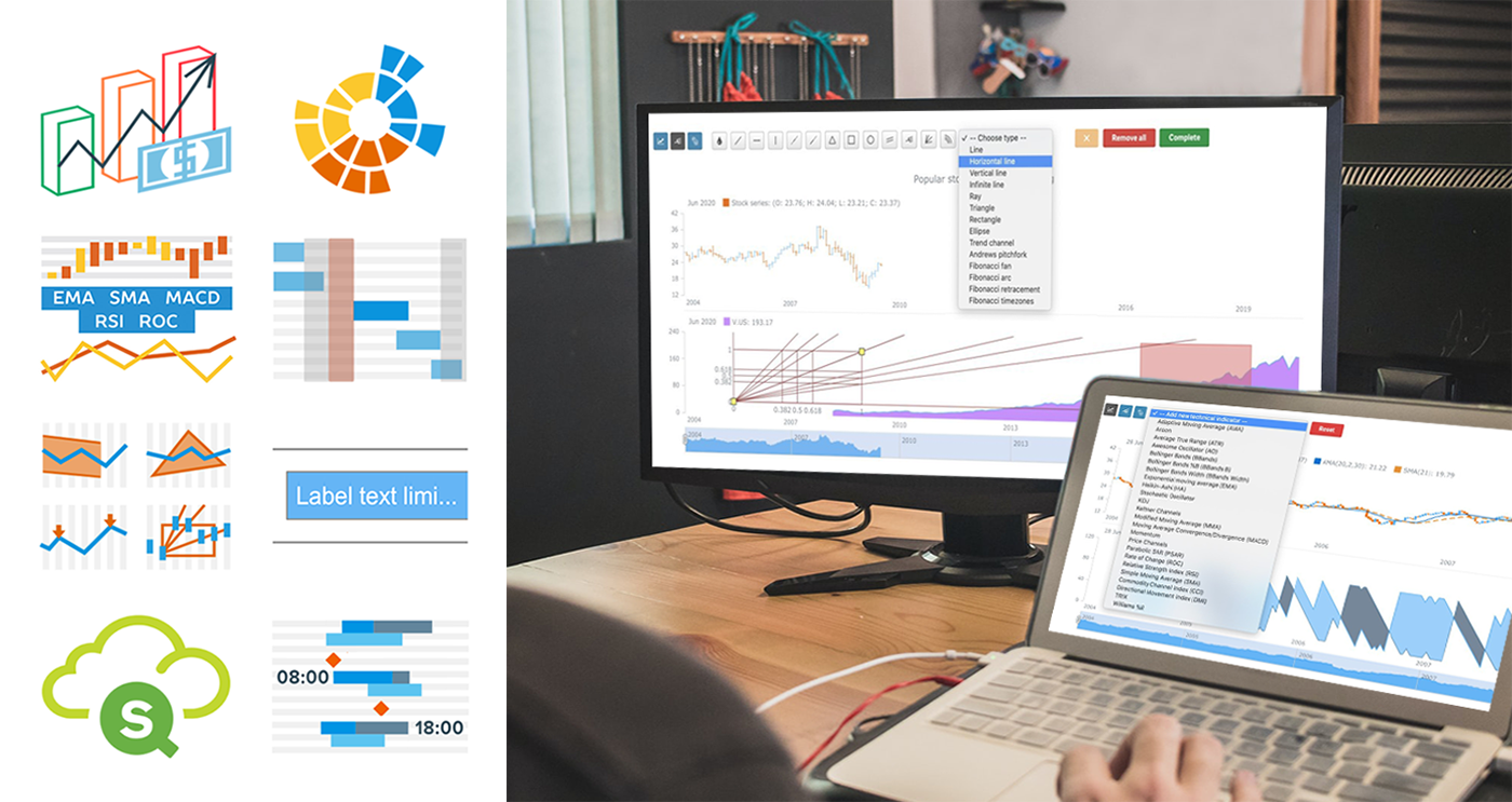 Qlik Sense Visualization Extensions AnyChart, AnyStock and AnyGantt Updated with New Features